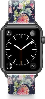 Keepsake Casetify Saffiano Faux Leather Apple Watch Strap
