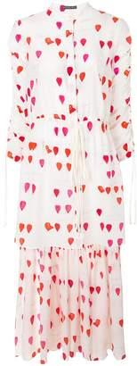 Alexander McQueen petal print tunic