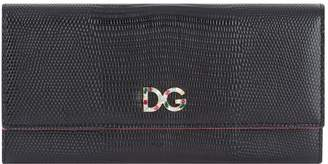 Dolce & Gabbana Embellished Logo Continental Wallet