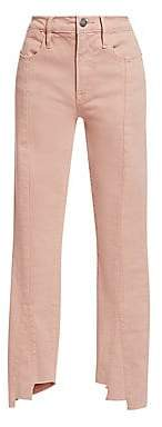 Frame Women's Le High Skinny Asymmetric Hem Jeans