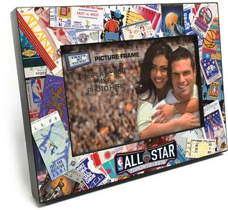 """Thats My Ticket 2016 NBA All-Star Game Ticket Collage 4"""" x 6"""" Wooden Frame"""