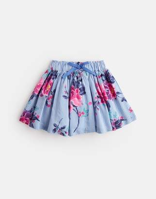 Joules Clothing Younger ariel Woven Skirt With Elasticated Waistband