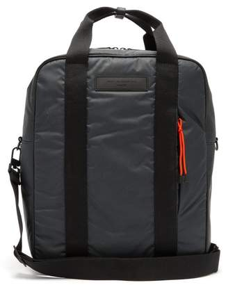 WANT Les Essentiels Dorado Convertible Ripstop Backpack - Mens - Charcoal
