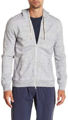 Reigning Champ 'Core' Zip Front Hoodie