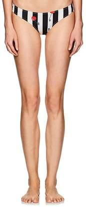 Solid & Striped Women's Elle Cherry Striped Bikini Bottom