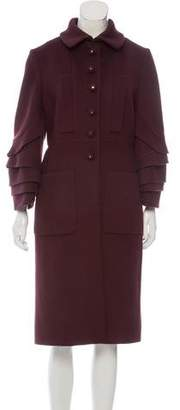 Valentino Wool Long Coat