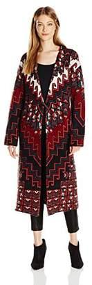Mara Hoffman Women's Rug Knit Sweater Coat