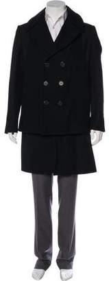 Givenchy Layered Wool Coat