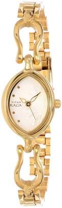 Titan Women's 2370YM06 Raga Inspired Gold Tone Watch