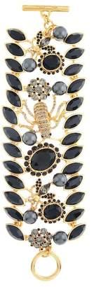 Oscar de la Renta Swarovski Crystal Accent Wildlife Bracelet