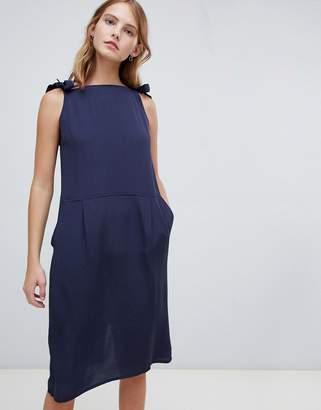 Ichi Pinafore Style Dress