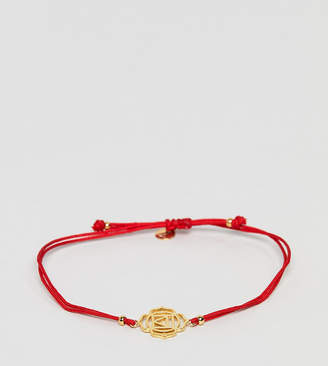 Accessorize (アクセサライズ) - Accessorize Z red friendship bracelet