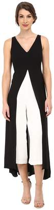 Adrianna Papell Color Blocked Overlay Jumpsuit Women's Jumpsuit & Rompers One Piece