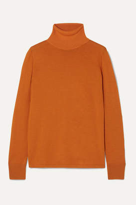 L.F.Markey - Joshua Wool Turtleneck Sweater - Orange