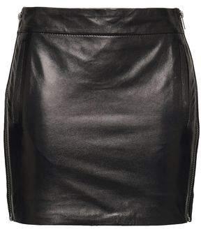 Haider Ackermann Leather Mini Skirt