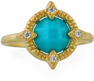 Freida Rothman Amazonian Allure Single-Stone Cocktail Ring, Size 6