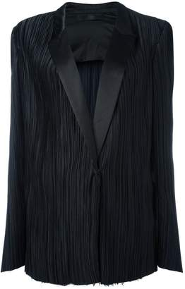 Haider Ackermann classic pleated blazer