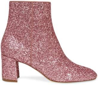 Mansur Gavriel Glitter 65mm Ankle Boot - Blush