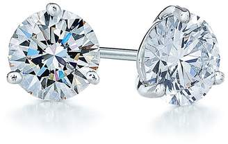 Kwiat 0.50ct tw Diamond & Platinum Stud Earrings