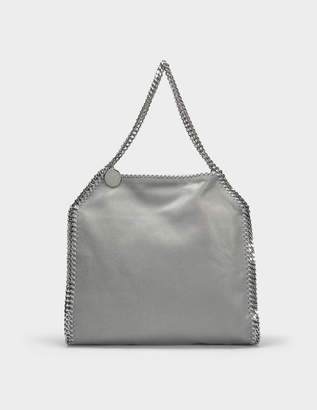Stella McCartney Shaggy Deer Falabella Small Tote Bag in Light Grey Eco  Leather aac3aade5e