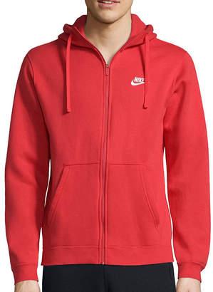 Nike Club Cotton Fleece Full-Zip Hoodie