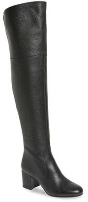 Women's Via Spiga 'Finlay' Over The Knee Boot $495 thestylecure.com