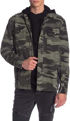 nANA jUDY Acland Camouflage Military Jacket