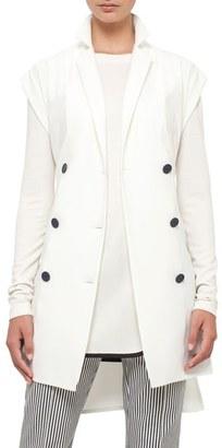 Women's Akris Punto Double Breasted Vest $1,190 thestylecure.com