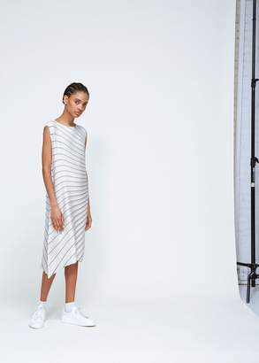 Issey Miyake Wide Radial Pleated Dress
