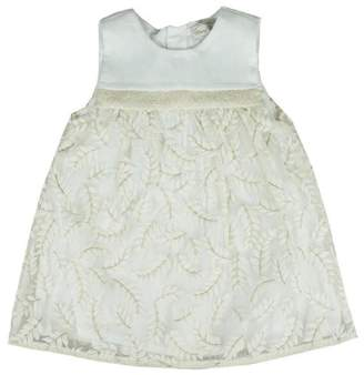 Mayoral Organdy Embroidered Dress