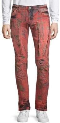 Dyed Zipper Pants