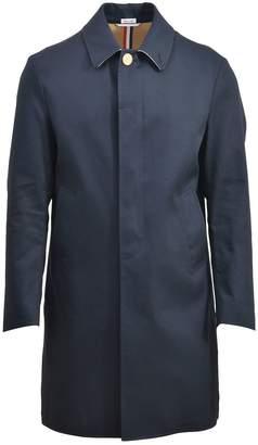 Thom Browne Dark Blue Raincoat