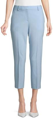 Theory Wool Blend Cropped Pants