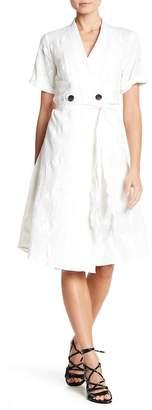 Line & Dot Laci Embroidered Short Sleeve Dress