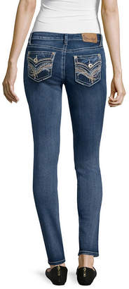 Soundgirl Z2 Flap-Pocket Skinny Jeans