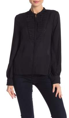 Rebecca Minkoff Arla Lace Pleated Top