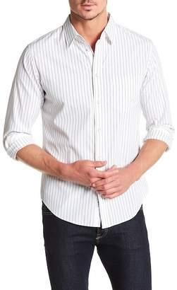 Rag & Bone Fit 2 Stripe Regular Fit Shirt