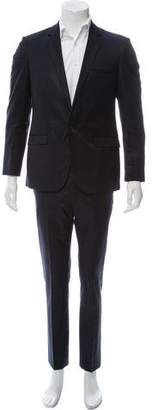 Calvin Klein Collection Waxed Virgin Wool Two-Piece Suit