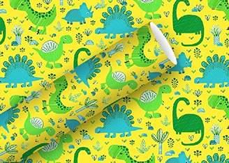 Braun + Company Gift Paper, Yellow, One Size