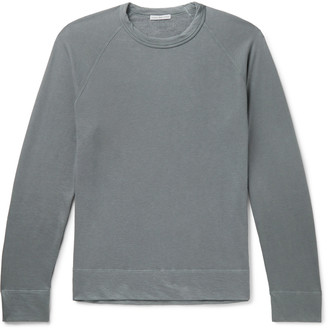 James Perse Loopback Supima Cotton-Jersey T-Shirt - Men - Gray