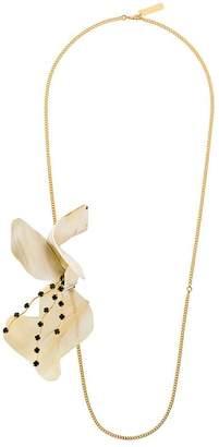 Marni flower motif necklace