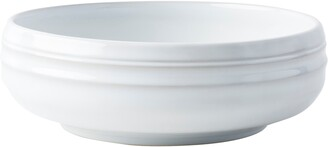 Juliska Bilbao White Truffle Coupe Bowl