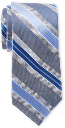 Perry Ellis Portfolio Villa Stripe Silk Tie
