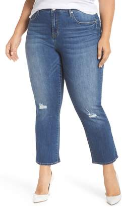 Seven7 Crop Flare Jeans