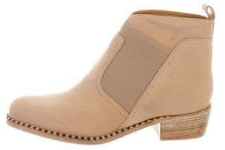 Marc Jacobs Suede Round-Toe Boots