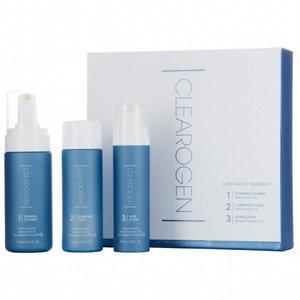 Clearogen 3-Step Acne Treatment Set - Benzoyl Peroxide