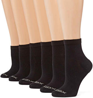 JCPenney Xersion 6-pk. Zone Cushioned Quarter Socks
