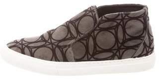 Pierre Hardy Round-Toe Slip-On Sneakers