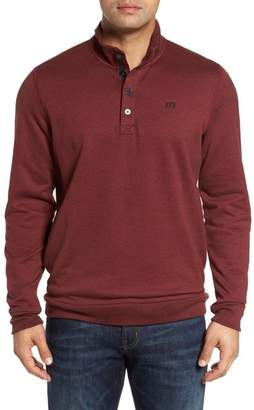 Travis Mathew Wall Mock Neck Pullover