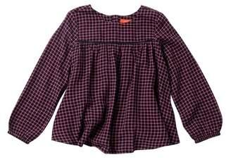 Joe Fresh Long Sleeve Woven Top (Toddler & Little Girls)